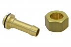 "Screwing with hexagonal screw, G1/2"" for 10 mm hose"