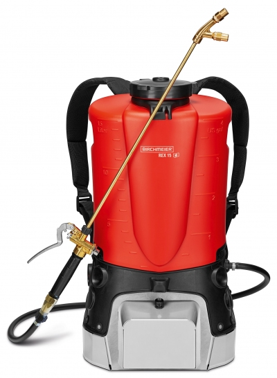 Backpack Sprayer REX 15 - an exhaust gas-free alternative to high-pressure motorised and petrol engine backpack sprayers