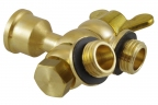 Double nozzle swivel holder G1/4""