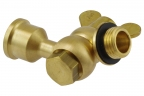 Single nozzle swivel holder G1/4""