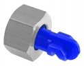 Herbicide Floodjet nozzle 1.6 mm, blue