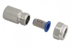 Nozzle holder nickel-plated brass G1/4