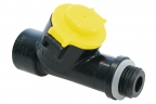 CF Valve yellow 1 bar