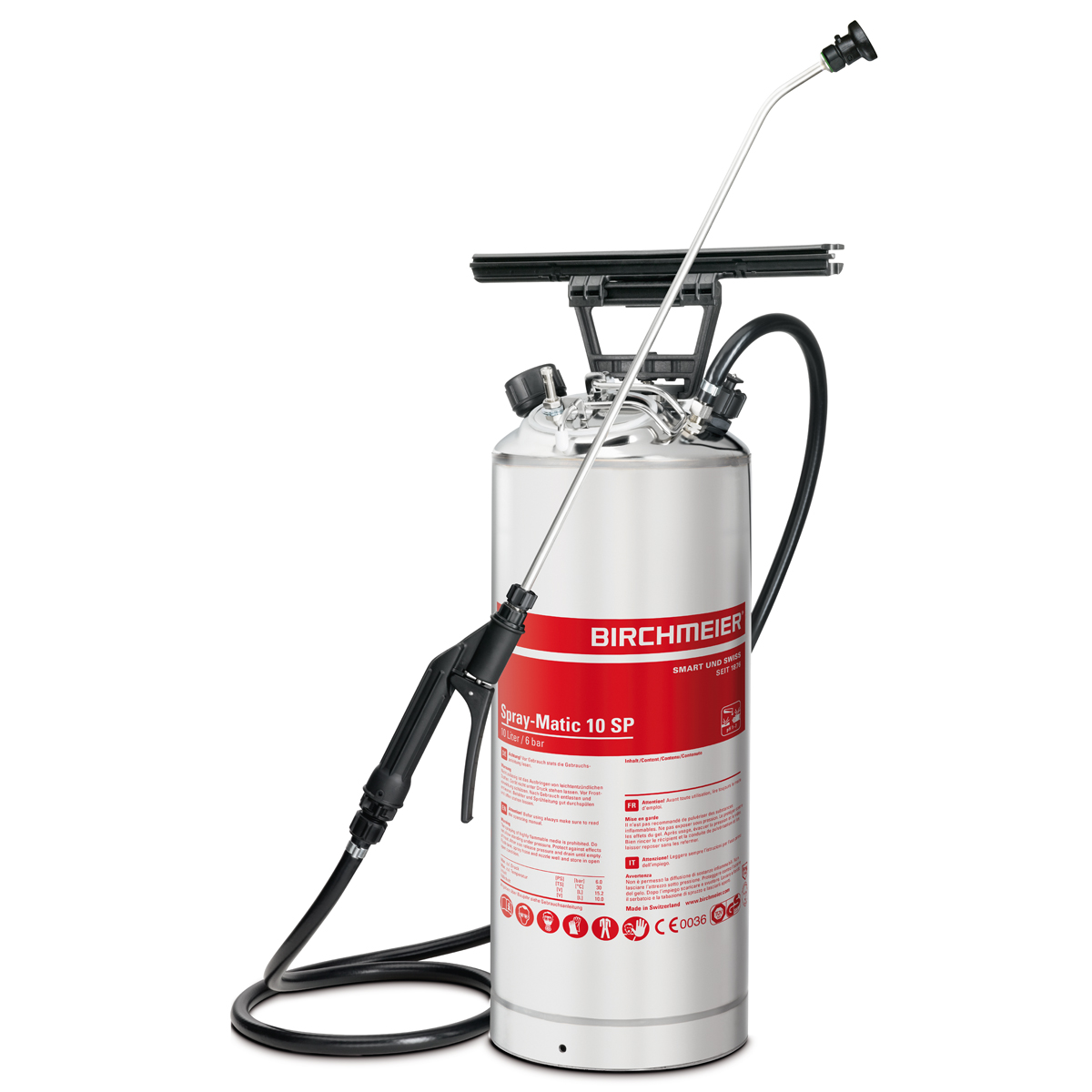 Spray-Matic 10 SP avec raccord à air comprimé