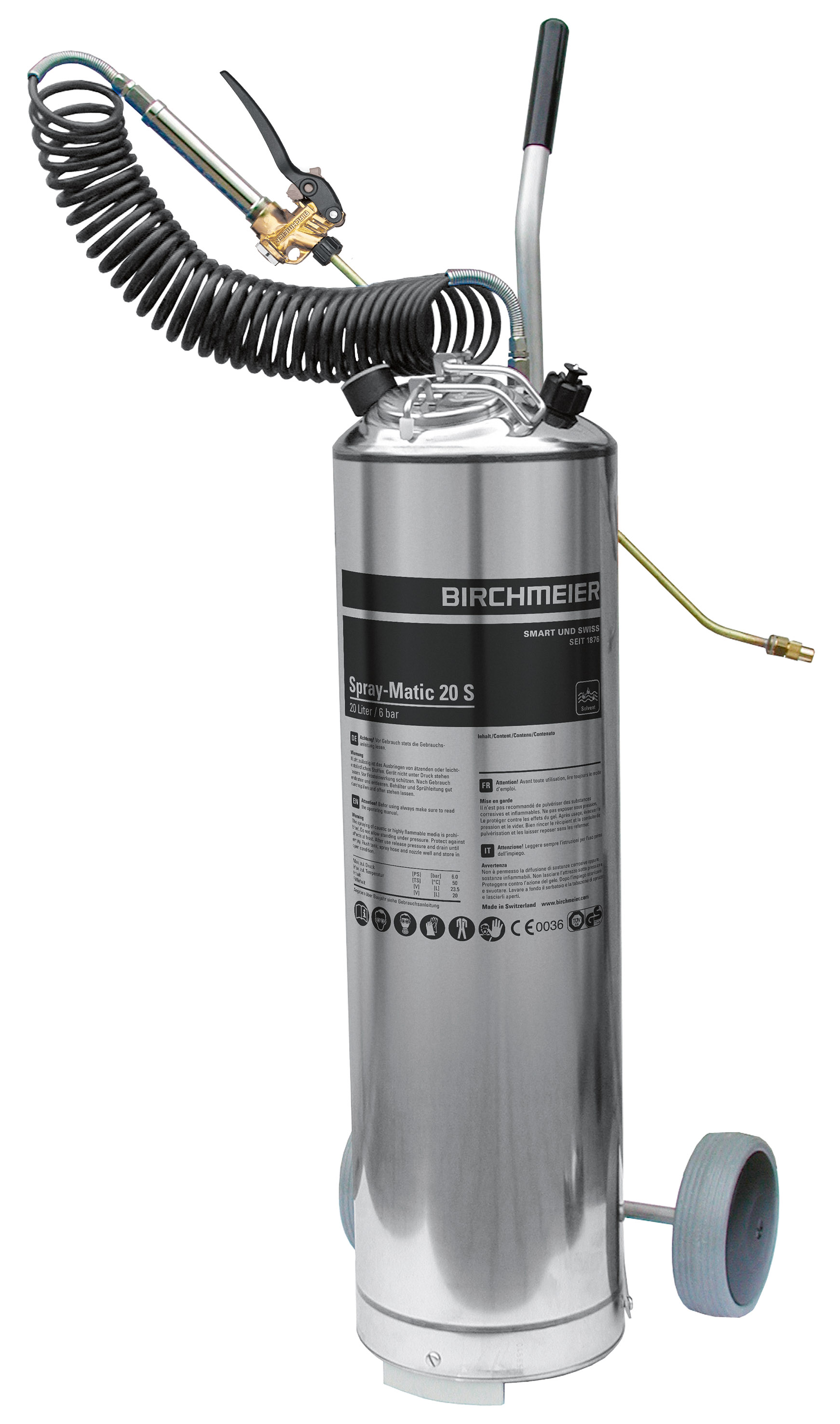 Spray-Matic 20 S without reducing valve