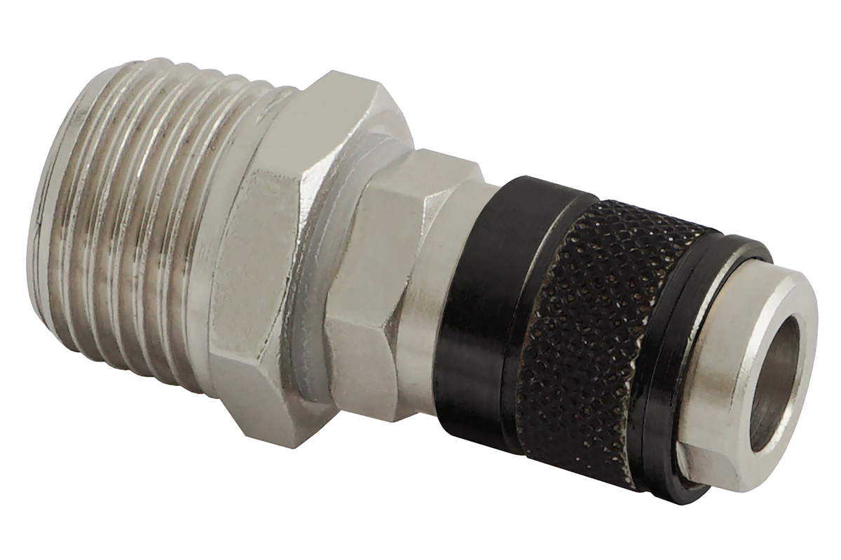 Quick coupling hose side R1/2